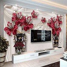 SUNNYBZ Murale Da Parete Design Moderno Rosso