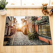 Sunset vintage street Indoor antiscivolo tappetino