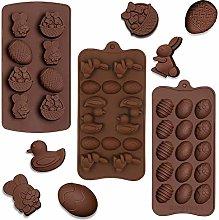 SUNSK Stampo in silicone per cioccolatini anatra