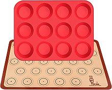 SUPER KITCHEN Grande Stampo in Silicone Per 12