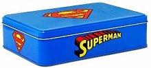 Superman 6390474091Barattolo di Latta, Metallo,