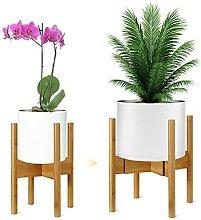 Supporto per piante in bambù regolabile, per