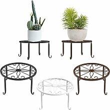 Supporto per piante in vaso, [Set di 3] Portavasi