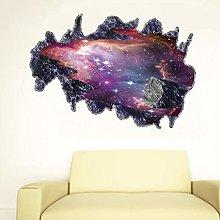 SUPWALS Adesivi murali Adesivo Murale Meteorite 3D