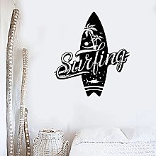 Surf Adesivo da parete Surf Club Tavola da surf