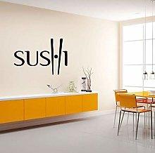 Sushi Decal Ristorante Sticker Poster Adesivo