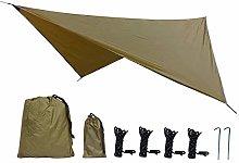 SUZHENA 350x280cm Telo Impermeabile Tenda Ombra