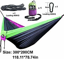 SUZHENA Amaca Arcobaleno in Tessuto per Paracadute