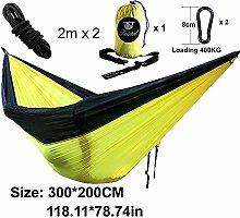 SUZHENA Rainbow Hammock Nylon Parachute Fabric