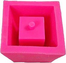 Sweo - Stampo in silicone geometrico per vaso di
