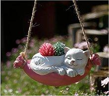 Swing Mille gattini, ornamenti per esterni in
