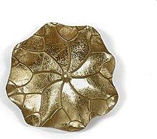 Sysrqcer Lotus Leaf Metallo Decorazione della