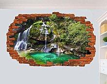 SYYUN Adesivi murali Adesivo murale cascata
