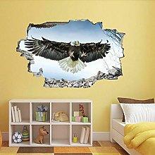 SYYUN Adesivi murali Adesivo murale grande uccello