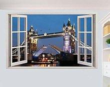 SYYUN Adesivi murali Adesivo murale London Bridge