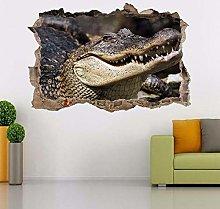 SYYUN Adesivi murali Alligatore coccodrillo