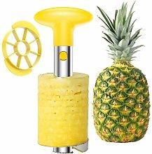 Taglierina per ananas per sbucciare, detorsolare e