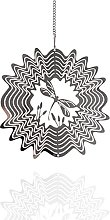 TAHUAON 3d Metallo Arte Giardino Vento Spinner