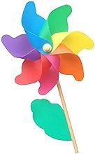 Tahuaon Mulino a vento per giardino Kid fai da te