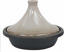 Tajine in ghisa e ceramica, 27 cm