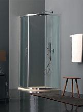 Tamanaco Box doccia ECO in cristallo 6 mm cincill