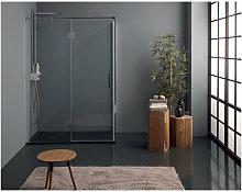 Tamanaco Porta doccia battente angolare