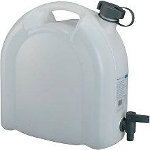 Tanica acqua 10l PE con rubinetto di scarico