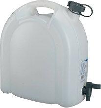 Tanica acqua 15l PE con rubinetto di scarico