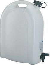 Tanica acqua 20l PE con rubinetto di scarico