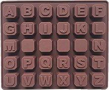 Tanmo 3D lettere dell'alfabeto cioccolato