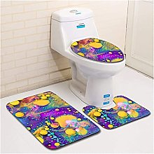Tappeti bagno antiscivolo Set tappeti bagno