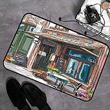 Tappeti da Bagno a Pelo Lungo Antiscivolo 40 x 60