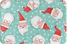 Tappeti da bagno Mat All Santas Pattern Memory