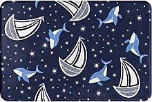Tappeti da bagno Mat Porta Balena Paradiso Memory