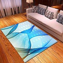 Tappeti di Moda Pelo Corto Motivo 3D Arte