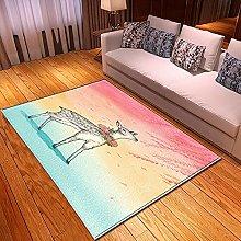 Tappeti di Moda Pelo Corto Motivo 3D Disegnati a