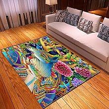 Tappeti di Moda Pelo Corto Motivo 3D fiori
