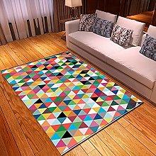 Tappeti di Moda Pelo Corto Motivo 3D Geometria