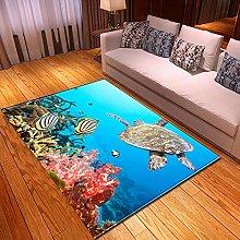 Tappeti di Moda Pelo Corto Tartaruga di mare