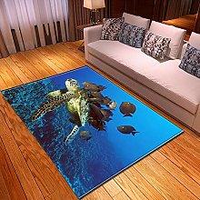 Tappeti di Moda Pelo Corto Tartaruga oceanica