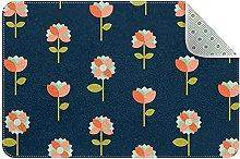 Tappeti per piccole aree Tappeti floreali per