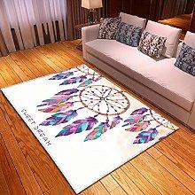 Tappeti Piume colorate Home Tappeto per Esterno
