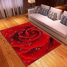 Tappeti rosa rossa Home Tappeto per Esterno