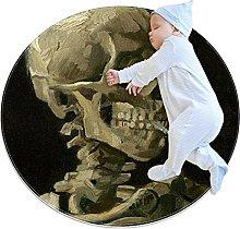 Tappeti rotondi morbidi 3 piedi per bambini