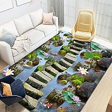Tappeti Runner, 3D Landscape Forest Tree Area