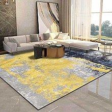 Tappeti Tappeto cucina Blu giallo grigio100X150cm