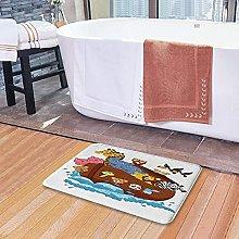 Tappetini da bagno per il bagno, la nave