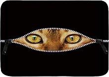 Tappetini da bagno per il bagno, occhi di gatto