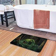 Tappetini da bagno per il bagno, piccola casetta