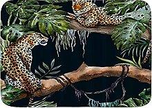 Tappetini da bagno per il bagno,Safari Animale